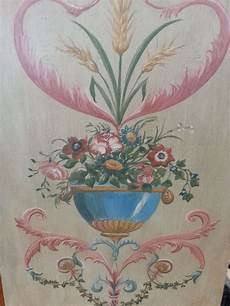 décaper peinture sur bois peinture sur panneau en bois avec motif floral l atelier
