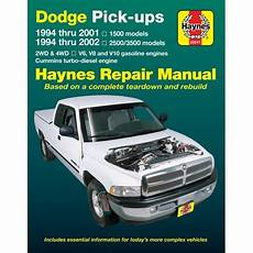 hayes car manuals 1994 infiniti j windshield wipe control haynes repair manual new ram truck dodge 1500 2500 3500 1994 1996 30041 ebay