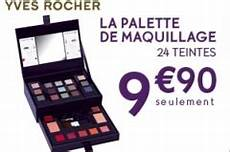 promo yves rocher palette maquillage 9 90 seulement