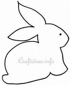 Malvorlagen Ostern Senioren Kaninchen Sitzen Osterhase Schablone Vorlage