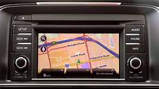 how to set a destination using the satellite navigation