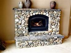 washington bar river rock fireplace in 2019 river rock fireplaces rock fireplaces home