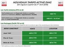 Tarifs Par Diagnostic Immobilier Obligatoire Active Diag13