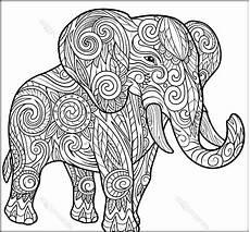 Malvorlagen Mandala Elefant Elephant Mandala Coloring Pages Part 8 Free Resource