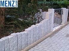 Sichtschutz Günstige Lösung - granit palisade hellgrau 12 x 12 x 75 cm gestockt wie