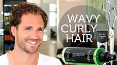 how to deal with wavy unruly men s hair curly brody jenner hairstyle youtube