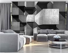 papier peint 3d papier peint panoramique design gris zd1 jpg
