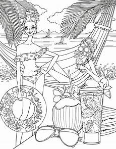 Malvorlagen Theme Side Coloring Page Zentangles Colouring