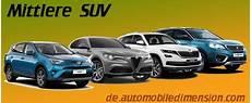Sitzhöhe Auto Vergleich - kompakt suv vergleich mit abmessungen und kofferraumvolumen