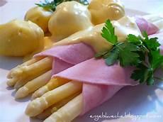 spargel mit schinken essen aus engelchens k 252 che spargel mit schinken