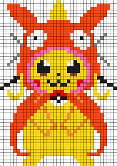 Minecraft Malvorlagen Xp Large Magicarp Pikachu Perler Perler Bead Pattern Bead