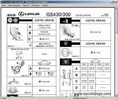 online service manuals 1997 lexus gs spare parts catalogs lexus gs430 gs300 1998 repair manual download