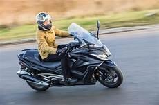Ride Kymco Ak550