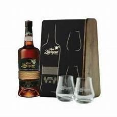 bicchieri rum zacapa zacapa etiqueta negra 70 cl 2 bicchieri confezione