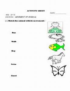 movements of animals worksheets for grade 1 14260 worksheets movement of animals