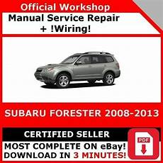 car service manuals pdf 2008 subaru forester free book repair manuals factory workshop service repair manual subaru forester 2008 2013 wiring ebay