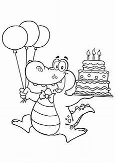 Ausmalbilder Geburtstag Pdf Ausmalbilder Geburtstags Krokodil Krokodile Malvorlagen