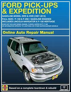 free auto repair manuals 2001 ford expedition on board diagnostic system 2001 ford expedition haynes online repair manual select access ebay