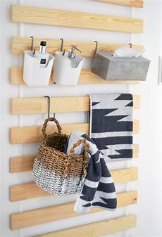 Ikea Bed Slats Wall Hanging Organizers For Every Room