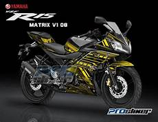 Yamaha R15 Modifikasi Stiker stiker motor modifikasi yamaha r15 midnight black motif