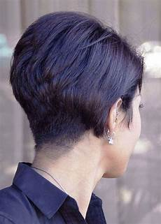 short wedge hairstyles back view stacked bob haircut 2016 short bob hairstyles for
