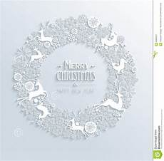 Merry And Happy New Year White Background