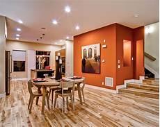 orange wall paint houzz