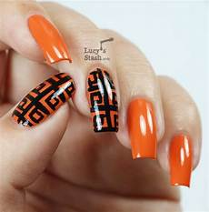 Patterned Zoya Thandie Nails With Tutorial Nails