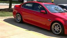 pontiac g8 on staggered bbs s hd youtube
