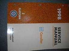 book repair manual 1994 chevrolet cavalier regenerative braking 1998 chevy cavalier bi fuel service shop repair manual ebay