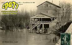 carte postale ancienne de isles l 232 s villenoy 77