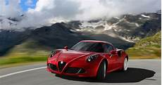 alfa romeo 4c being largely reved for 2019 top speed