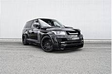 hamann mystere range rover goes from pink to black