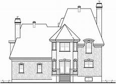 mansard roof house plans roomy home plan with mansard roof 21887dr cad