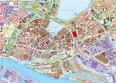 Hamburg Sehenswürdigkeiten Karte - diercke weltatlas kartenansicht hamburg innenstadt