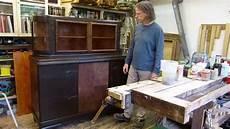 alte möbel restaurieren schellack spirituslack regenerieren buffet restaurieren