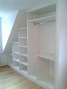 armoire sous comble armoire sous pente comble rangement armoire sous avec et dressing sous pente pas cher