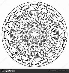 Malvorlagen Mandala Malvorlagen Mandala Im Handgezeichneten Doodle Stil