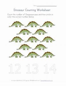 dinosaurs counting worksheets 15283 number thirteen dinosaur worksheet