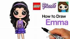 Malvorlagen Lego Friends Easy How To Draw Lego Friends Easy