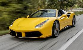 2016 Ferrari 488 Spider First Drive – Review Car And Driver