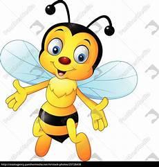 Biene Malvorlagen Xing Gl 252 Ckliche Biene Isoliert Auf Wei 223 Em Stockfoto