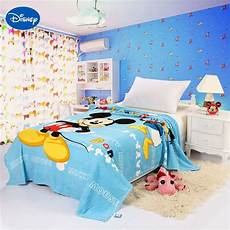 piumoni disney disney smart mickey mouse printed blankets 150 200cm boys