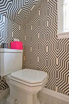funky bathroom wallpaper ideas home chic raleigh half bath wallpaper geometric wall paper wall paper wallpaper d i l l i