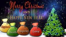 merry and happy new year best wishes 4k