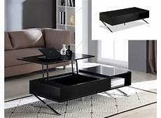 table basse relevable pas cher table basse vente unique table basse alpha plateau