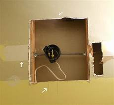moving a wall light fixture box how to move electrical light