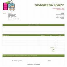 25 photography invoice exles pdf word exles