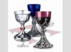 Goblets: Pewter Goblets