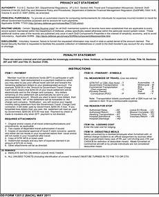 download dd form 1351 2 for free page 2 formtemplate